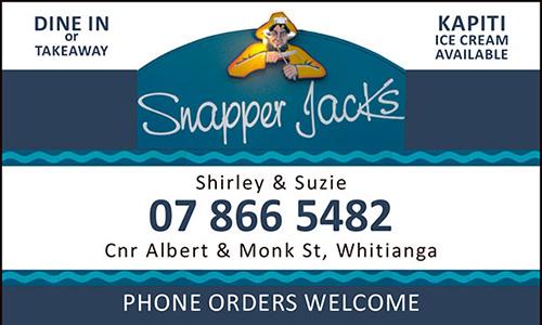 Snapper Jacks Takeaways