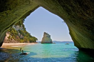 cathedral cove swim