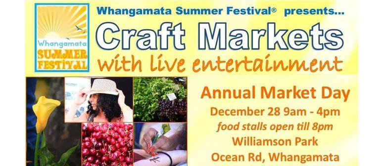 Whangamata Annual Market