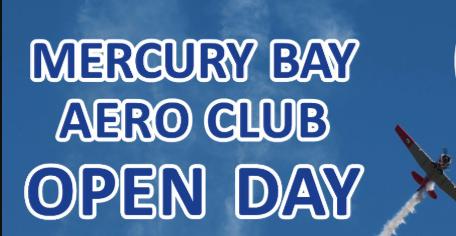 Mercury Bay Aero Club Open Day